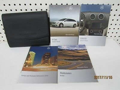 2010 Mercedes Benz R Class Owners Manual Set    FREE SHIPPING