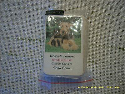 Quartett Tiere, Quartett Hunde, Spielkarten Tiere, Spielkarten Hunde, Tierkarten gebraucht kaufen  Pilsting