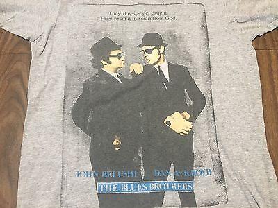 Blues Brothers Dan Aykroyd John Belushi Medium T Shirt Mission From God