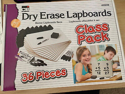 Class Pack Dry Erase Marker Eraser Lap Board Class Pack 12 Student Kit Cli