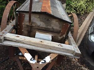 Wooden seed carrier North Albury Albury Area Preview