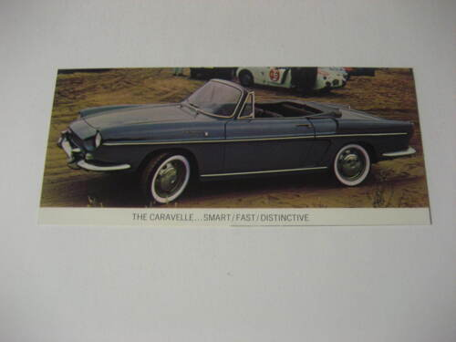 1964 Renault Caravelle Brochure