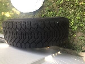 Goodyear Nordic winter tires with rims 195/60 r 15
