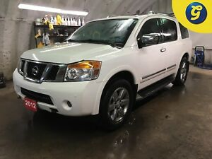 2012 Nissan Armada PLATINUM*4WD*NAVIGATION*SUNROOF*LEATHER INTER