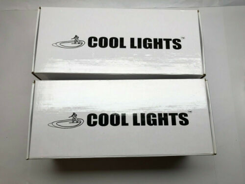 (2) Cool Lights 200W 5600K CFL Daylight for Photography Photo (Lot of 2)