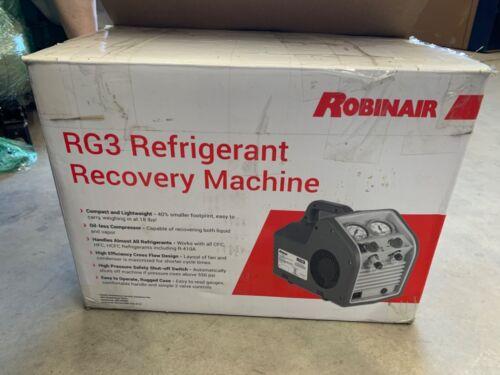 ROBINAIR RG3 PORTABLE REFRIGERANT RECOVERY MACHINE 115V 60HZ