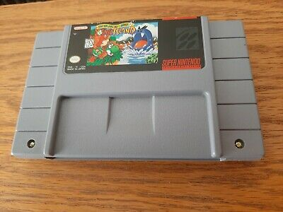 Super Mario World 2 Yoshi's Island Super Nintendo SNES Game Cart Yoshis