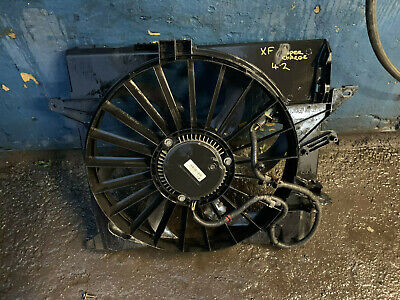 JAGUAR XFR 4.2 SUPERCHARGED RADIATOR COOLING FAN WITH COWLING