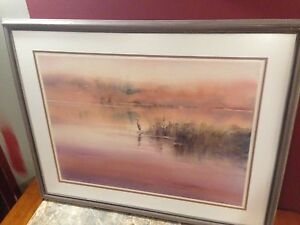 """38""""x30"""" framed picture"""