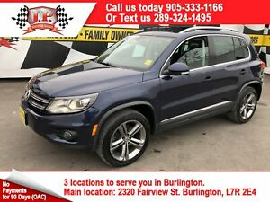 2017 Volkswagen Tiguan Highline, Auto, Navi, Leather, Pan Sunroo