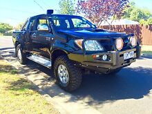TOYOTA HILUX SR5 TURBO DIESEL 4X4 5SPD MANUAL Hadfield Moreland Area Preview