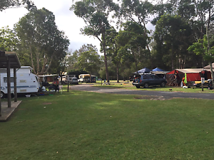 CAMP SITE  .POWERED SITE.  (CARAVAN OR TENT) Tuncurry Great Lakes Area Preview