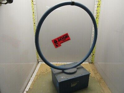 Electro-metrics Alr 25 Magnetic Field Loop Hoop Antenna Emc Testing 2y-0