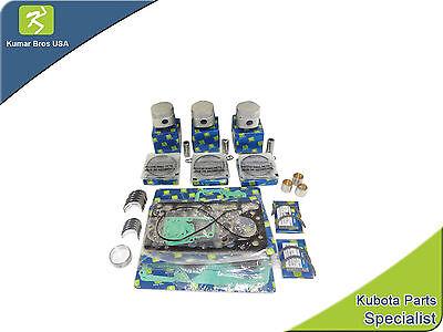 New Kubota Compact Tractor Overhaul Kit .5mm Oversize B7200 B8200 B1750 B20