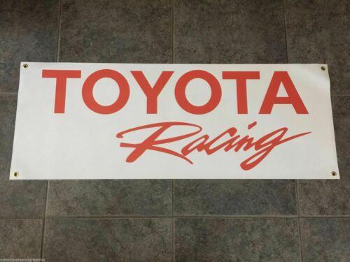 Toyota racing banner