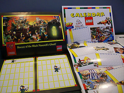 Vintage Lego Builders Club Calendars and Graph Paper 1989-1992