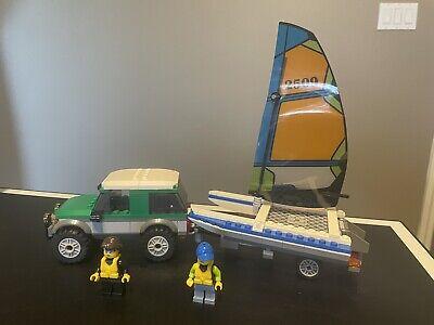 LEGO City 4x4 with Catamaran set 60149 100% Complete
