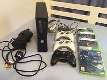 Xbox 360 Slim 250gb Console, 3 controllers & 4 Halo games Charnwood Belconnen Area Preview