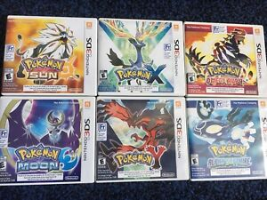 Pokémon 3DS games!!