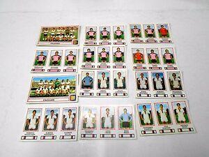 PANINI-calciatori-1978-79-Palermo-Cagliari-12-figurine-diverse