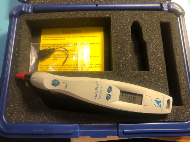 Accutome PachPen Portable Handheld Pachymeter