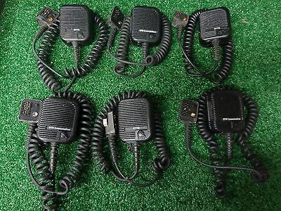 Ge Ericsson Otto Comm M-rk Mrk Mr-k Uhf Vhf Speaker Mic Wear Bug Jack Lot 6 Bs