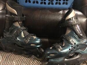 Ultra wheel Iridium LS in-line skates
