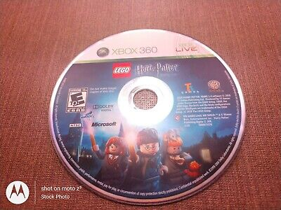 Microsoft Xbox 360 Disc Only Tested LEGO Harry Potter Years 1-4 Ships Fast