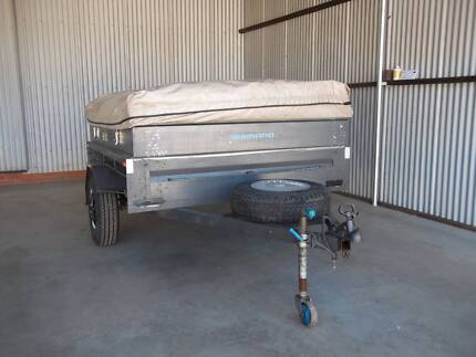 Simple Compact Off Road 14ft Camper Trailer For Sale Perth WA