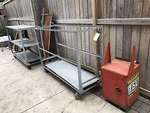 Metal carts and more. Industrial.