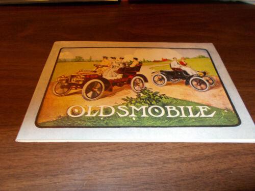 1904 Oldsmobile 36-page Sales Catalog