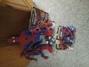 spiderman collectibles lot