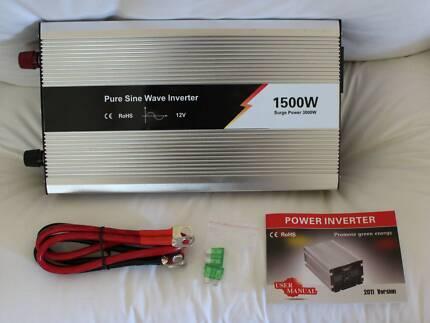 Pure Sine Inverter 1500-3000w caravan camping power camp Craigie Joondalup Area Preview