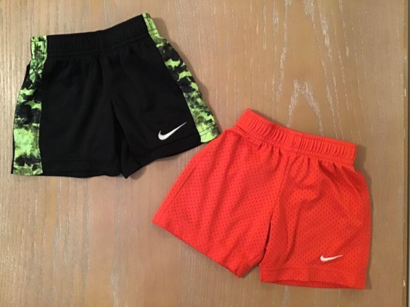 Boys Nike Shorts Lot of 2 Multicolor Size 2T