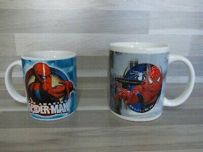 2 Vintage Spider-Man 3 Marvel Kaffeebecher aus 2007 & 2008 - Mug...