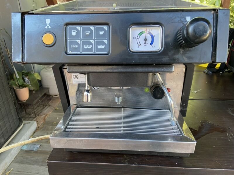 Brasilia Portofino  One Group Espresso Machine, 110 Voltage