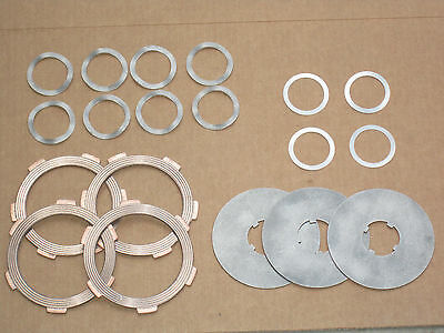 Pto Clutch Kit Disc Plate Shims Wavy Springs For Ih 154 Cub Lo-boy 185