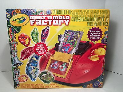 Crayola Melt n Mold Factory Crayons Maker Toy Kids Recycle Art Back to School