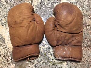 2 Nice Old Boxing Gloves
