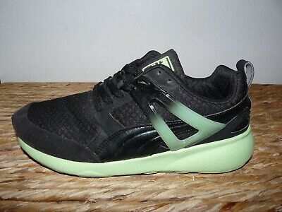 Used, WOMENS PUMA Size UK 5 Arial Running Shoes Black / Neon Green SUPERB Trainers  for sale  Shipping to Nigeria