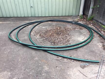 Rural pipe green stripe