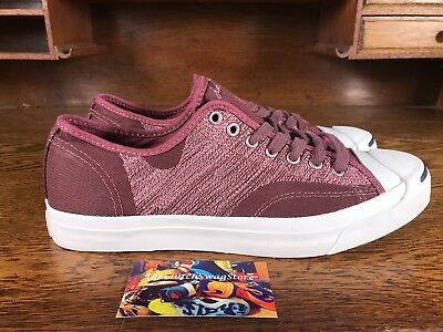 Converse Jack Purcell Ox Mens Low Top Red/Whey-faced Casual Shoes Size 10.5 MSRP $85