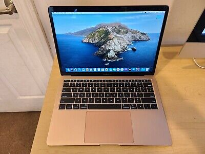 "Apple MacBook Air Retina 13.3"" Touch ID Intel i5 128GB SSD Gold 2019 Model"