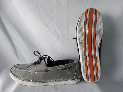 Sperry Boot (Sperry Top-Sider Cruz 2-Eye Boot Schuhe STS10177 Canvas grau EU 44 US 10,5)
