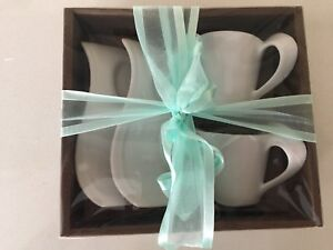 Espresso cups and plate sets