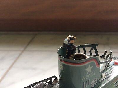 Figur, Kommandant, U-BOOT, U 29 ARNOLD Repro Blechspielzeug !