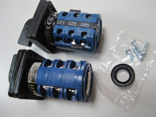 (2) KRAUS NAIMER CA11 USN539-600 EF & C11 SWITCH 2-PCS SELECTOR  SWITCHES NEW