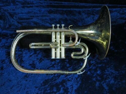 Blessing Artist F Mellophone Ser#817034 Plays Very Nicely with Speedy Valves!