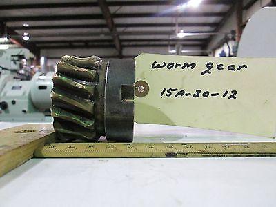 Storm Vulcan 15a Worm Gear 15a-30-12