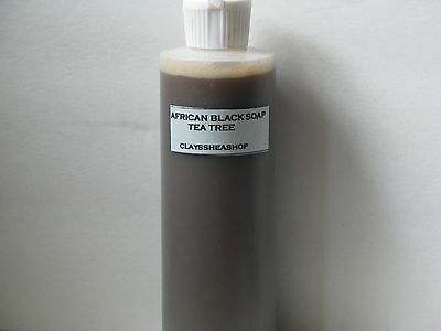 Liquid African Black Soap With Peppermint Essential Oil